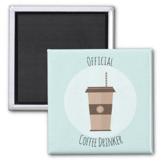 Official Coffee Drinker Magnet