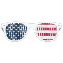 Official Colors USA Flag Party Glasses