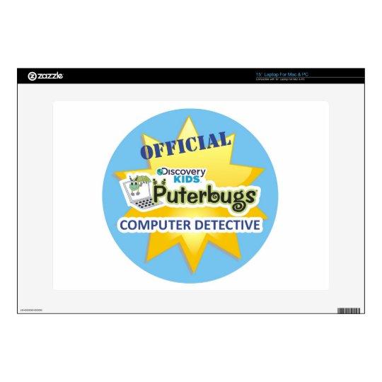 Official Computer Detective Laptop Skin