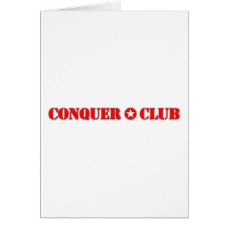 Official Conquer Club Card