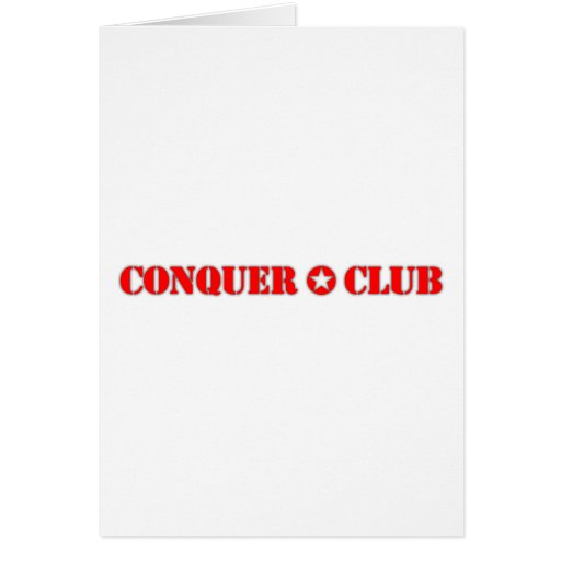 Official Conquer Club Cards