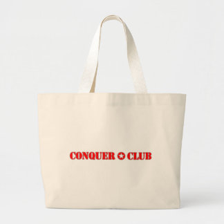 Official Conquer Club Large Tote Bag