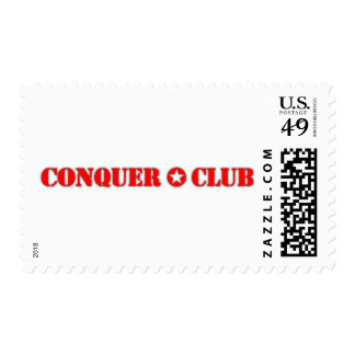 Official Conquer Club Postage Stamp