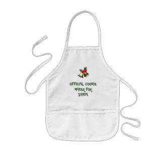 Official Cookie Maker For Santa Kids' Apron