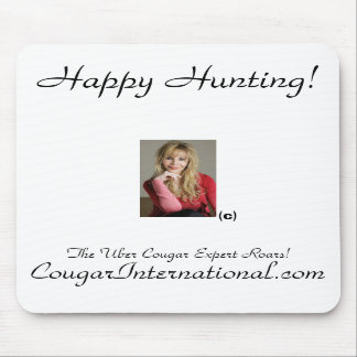Official CougarInternational.com Mouse Pad