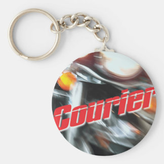 Official Courier T-Shirt Keychain