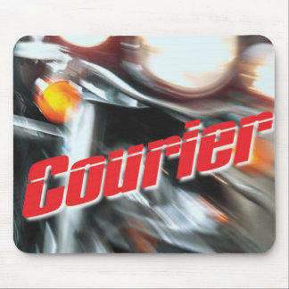 Official Courier T-Shirt Mouse Pad