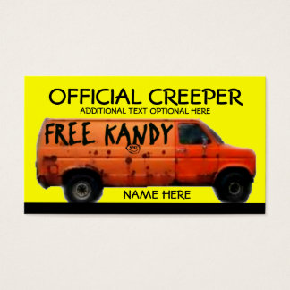 Official Creeper Business Card