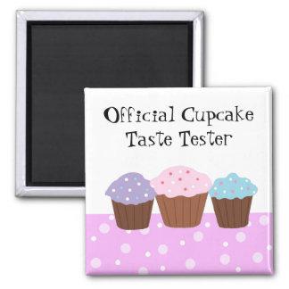 Official Cupcake Taste Tester Magnet