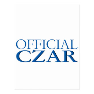 Official Czar Postcard
