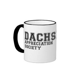 Official Dachshund Appreciation Society Ringer mug