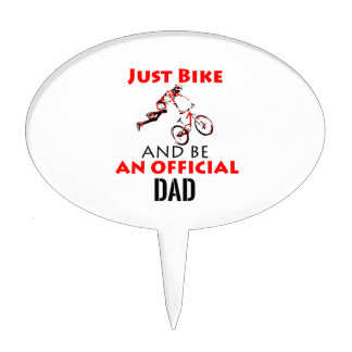 official dad cake topper