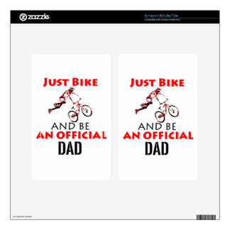official dad decal for kindle fire