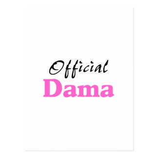 Official Dama Postcard