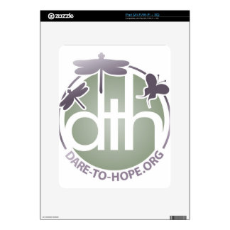 Official Dare to Hope Products Decal For The iPad