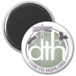 Official Dare to Hope Products Fridge Magnets