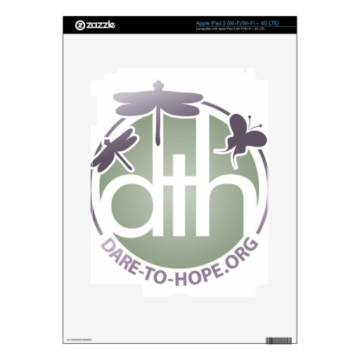 Official Dare to Hope Products iPad 3 Skin