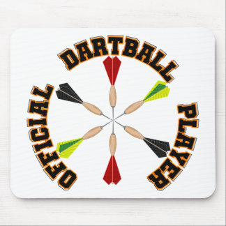 Official Dartball Player Mouse Pad