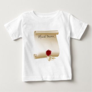 Official Decree Scroll With Red Wax Seal Infant T-shirt