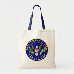 Budget Tote with Official Mom Seal design