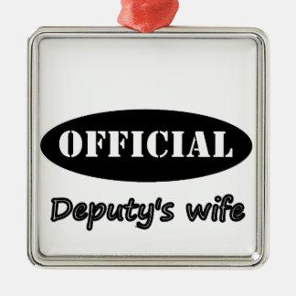 official_deputyswife ornament