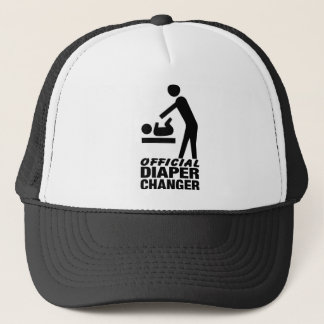 Official Diaper Changer Trucker Hat