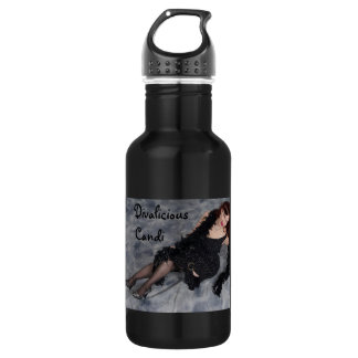 Official Divalicious Candi Eco-Conscious Hydration 18oz Water Bottle