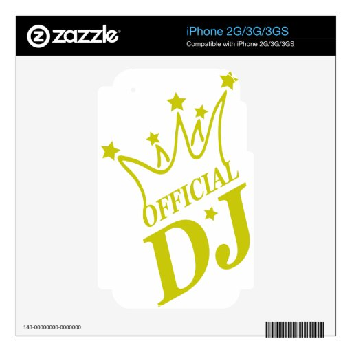 Official-DJ-2.png iPhone 3GS Skin