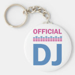 official DJ Key Chains