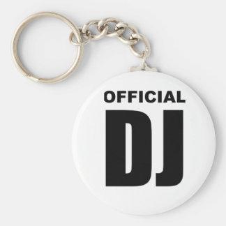 Official DJ Keychain