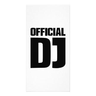 Official DJ Custom Photo Card