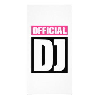 Official DJ Customized Photo Card