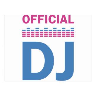 official DJ Postcard