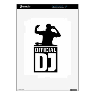 Official DJ Skin For iPad 2