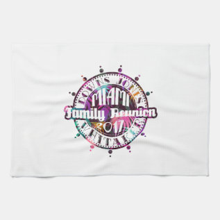 Official Djw Reunion 2017 Miami Hand Towel at Zazzle