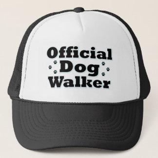 Official Dog Walker Trucker Hat