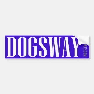 Official Dogsway Band Merch Car Bumper Sticker