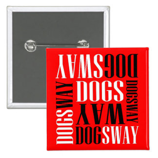 Official Dogsway Band Merch Button