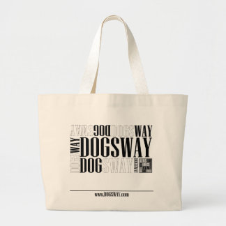 Official Dogsway Band Merch Large Tote Bag