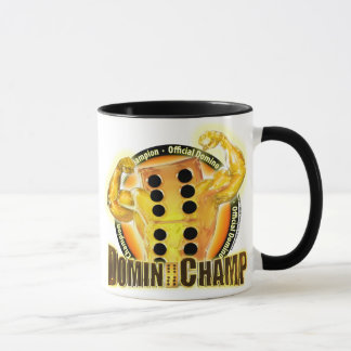 Official Domino Champion Mug
