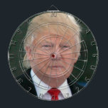 """official donald trump dartboard<br><div class=""""desc"""">because nutjobs are nutjobs,  and darts are darts... </div>"""