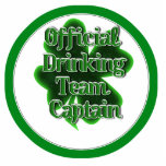 Official Drinking Team Captain Photo Cutouts