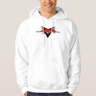 Official DSO Hoodie - Red w/ Chevrons