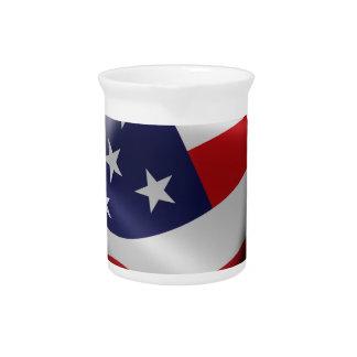 Official DumpTrumpforAmerica Logo Drink Pitcher