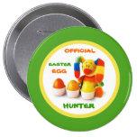 Official Easter Egg Hunter . Easter Gift Button Button