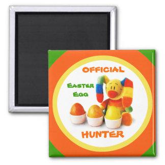 Official Easter Egg Hunter . Easter Gift Magnet Magnets