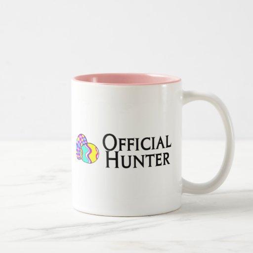 Official Easter Egg Hunter Two-Tone Coffee Mug