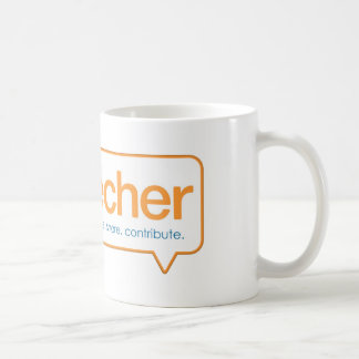 Official eduTecher Products Classic White Coffee Mug