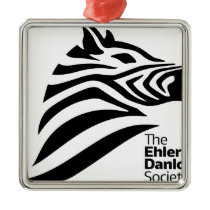 Official Ehlers-Danlos Society Logo Metal Ornament