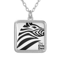 Official Ehlers-Danlos Society Logo Silver Plated Necklace
